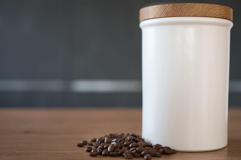 Perfekt zum Aufbewahren von Kaffee